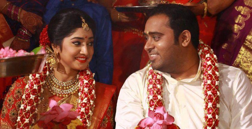 Abinesh Elangovan with Nandhini Wedding photo gallery
