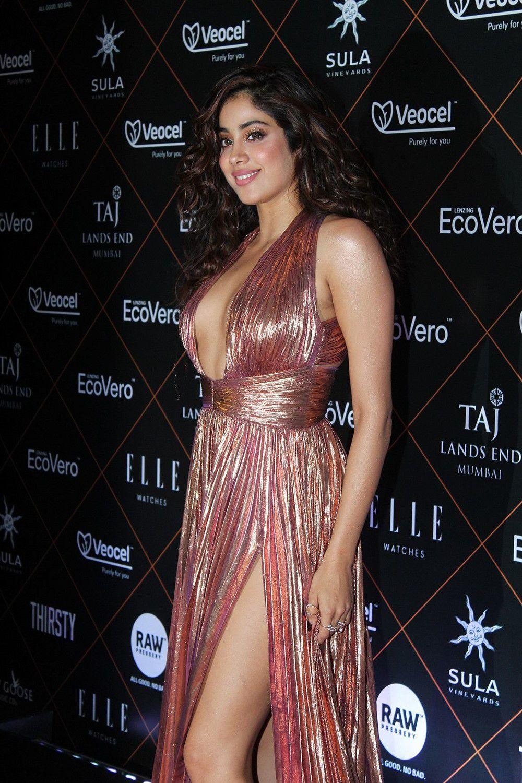 Actress Janhvi Kapoor At Elle Beauty Awards Photo Shoot Stills (9)