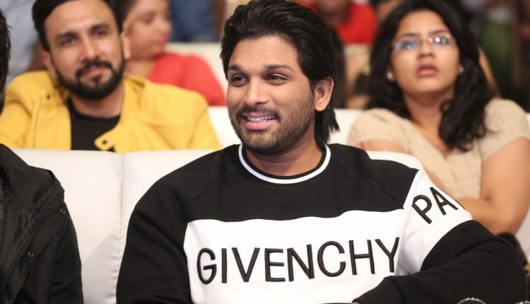 Allu Arjun photos during Taxiwala Pre Release event 4