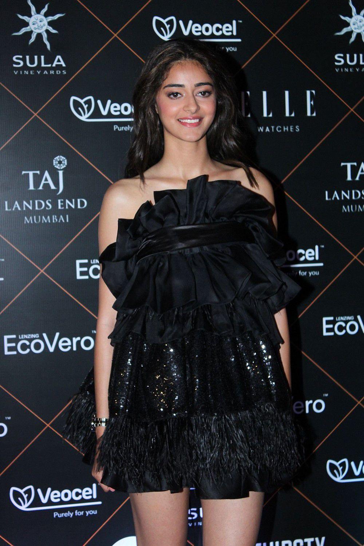 Ananya Pandey At Elle Beauty Awards 2019 Photos (3)