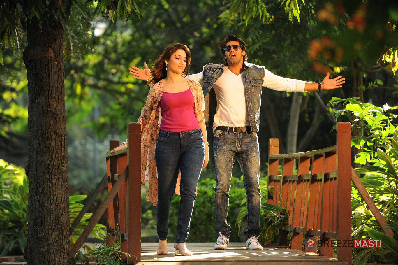 Arya Tamanna in Aishwaryabhimasthu Movie Stills 5