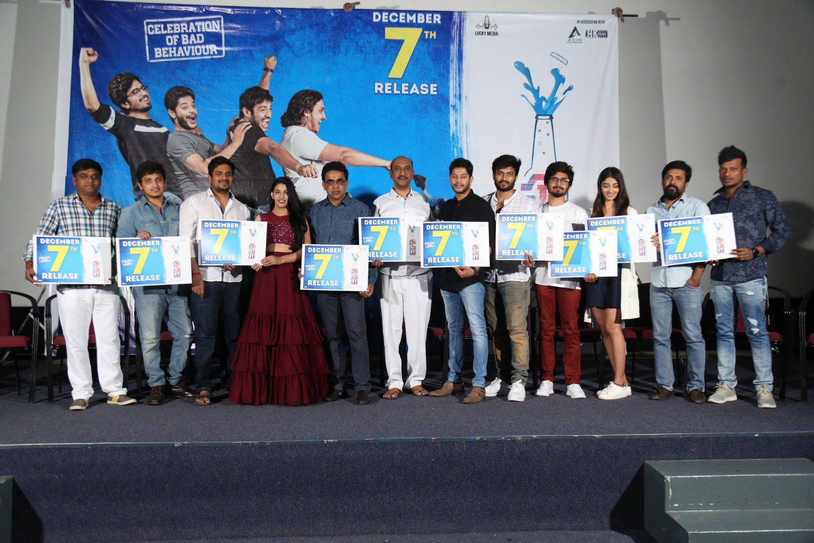 Husharu Movie launch Press Meet photos 3