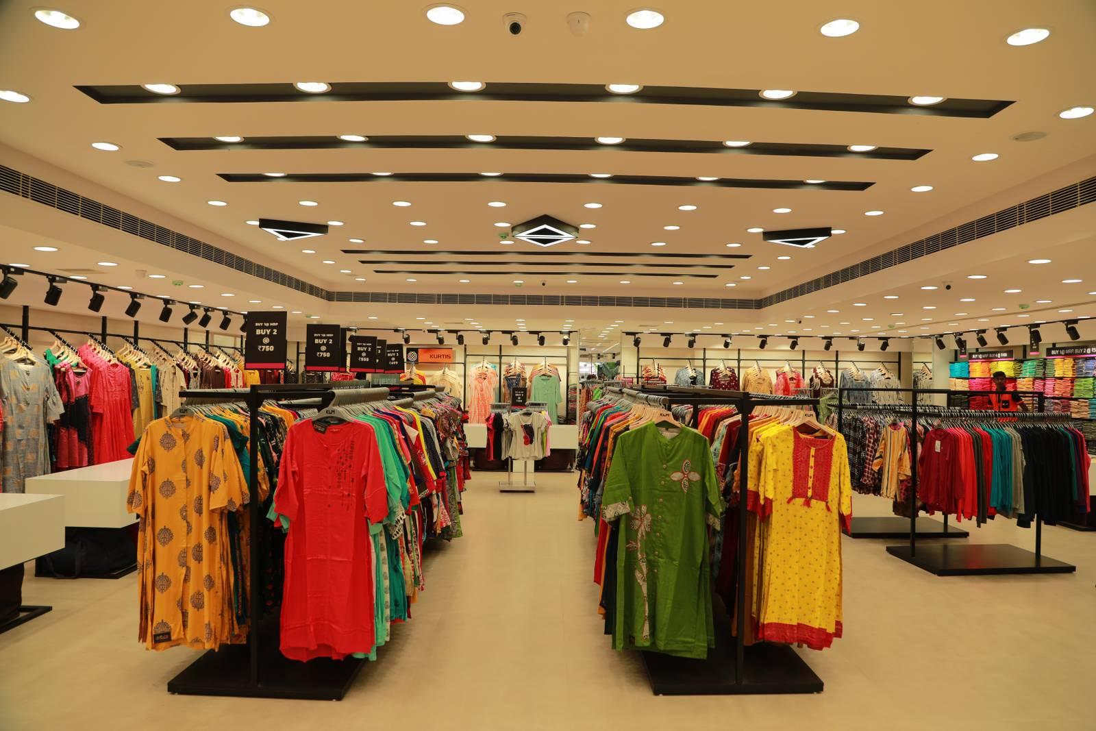 KLM fashion mall Inaugurated by Vijay devarakonda at Chandanagar 2