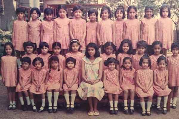 Kajal-Agarwal school photos