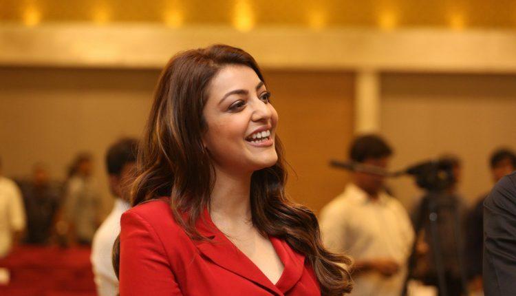 Kajal agarwal at Kavacham Movie Trailer Launch 1